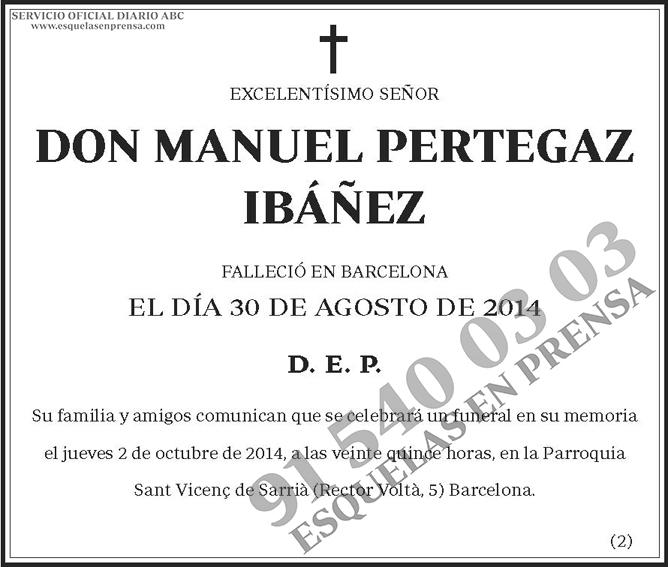 Manuel Pertegaz Ibáñez